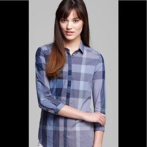 Burberry Brit Shirt, Blue Sz L